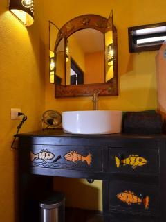 Casita bedroom sink