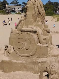 50th Anniversary Sand Castle Contect
