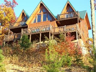 Above the clouds!  Spacious, private mountain home, Sevierville