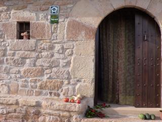 la puerta de la casa