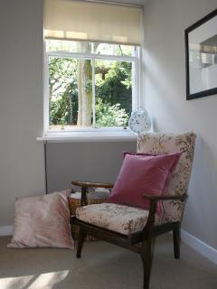 Cosy chair to watch over your private garden