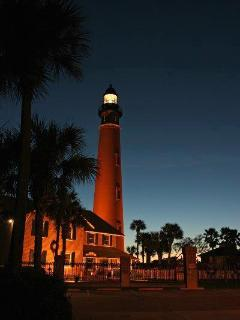 Ponce Inlet Lighthouse (Enjoy Climb To The Moon Activities during full moon)