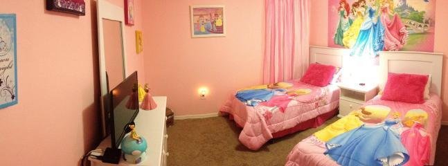 Princess bedroom #3, 2nd floor