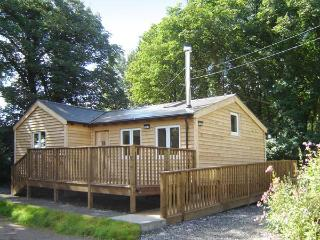 SEADRIFT CABIN all ground floor, woodburner, off road parking, decked area, in Llansteffan, Ref 915644