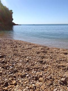 Il mare visto dalla spiaggia della 'BAIA BLU'