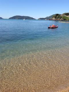 All'orizzonte l'isola Palmaria