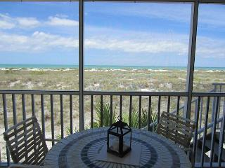 Enjoy an Unobstructed view of the Gulf from this Cheery 2 Bedrm Villa! B2913A
