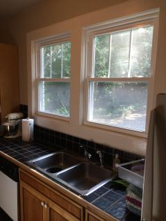 Lots of light in Kitchen (blinds being installed this week)