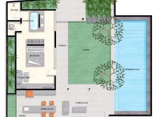 One Bedroom Deluxe Villa with Swimming Pool, Seminyak