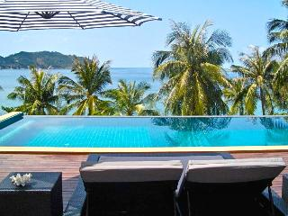 Beach Villa Phangan, beachfront