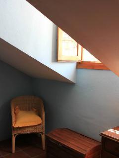 Detalle ventana habitación doble