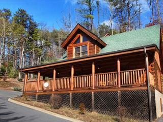 Heavenly, Country Porch, Bedside Jacuzzi, Private Hot Tub, Stone Fireplace, Sevierville