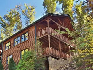 Smoky Mountain Escape a two bedroom cabin full of activities for all ages.