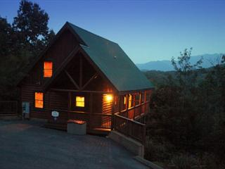 Tranquility a two bedroom cabin located minutes from the tranquil Smoky Mtns., Pigeon Forge