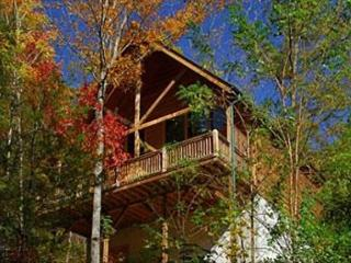 Secluded Romance a one bedroom Pigeon Forge cabin minutes from Dollywood., Sevierville