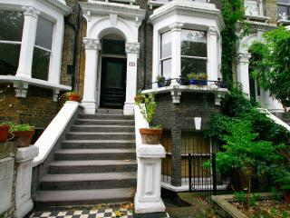 Victorian Townhouse on a park in Hackney, London