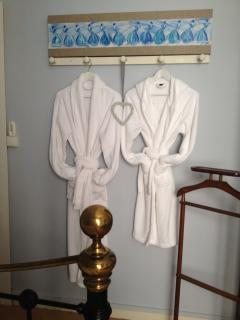 Use of Bathrobes During you Stay