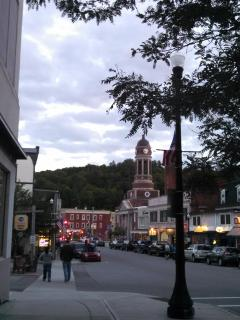 Main Street downtown Saranac Lake