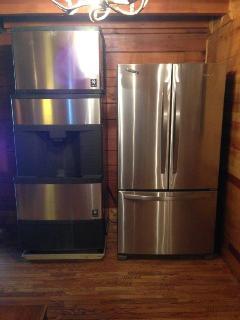 Icemaker and Extra Refrigerator