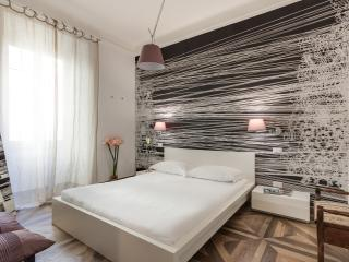 The elegant bedroom, AC, design furniture, TV lcd