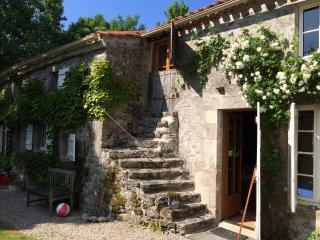 16th Century quiet rural property in 1 acre garden, Saint-Etienne-du-Bois