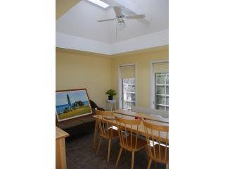 Sunroom with dining area