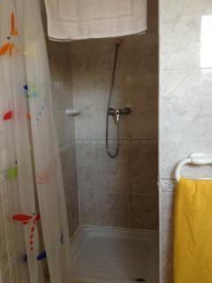 Ducha del baño en suite