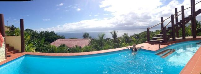 ...cool down in the pool with infinity view