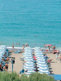 la spiaggia di Cecina Mare