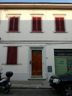 la casa in via Trento 10 Cecina
