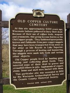 Copper Culture State Park