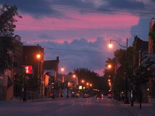 Downtown Oconto - Photo by Dick Doeren