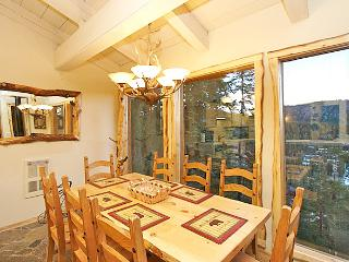 Dining Area That Seats Eight With Floor To Ceiling Windows