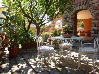 Appartamento in villa con giardino #1