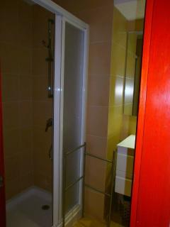 Shower cabin in bathrom 2