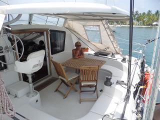 cush catamaran doppioscafo charter in san blas, El Porvenir