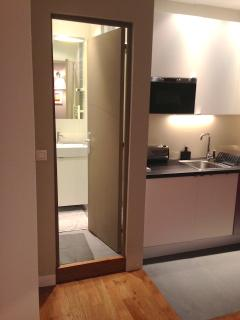 entrée salle de bain