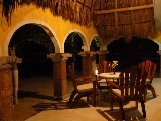 spacious Terrace of the villa at Hacienda Antigua