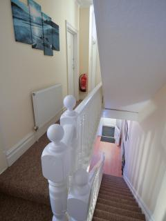 Top of stairs joining first floor landing
