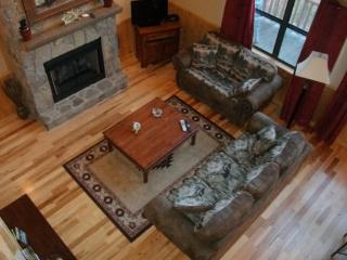 Wolf Ridge Secluded Log Cabin - Enjoy the outdoors through Large Windows Indoor Jetted Tub -- Hiking at the Cabin, Bryson City