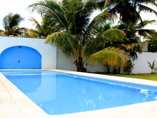 House for rent in progreso beach,close to mayan ru