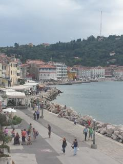 PIRAN, Lovely appartment in Tartini square / 4Beds