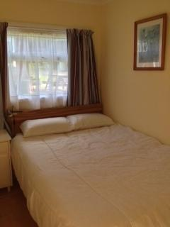 Caswell Bay Chalet Double Bedroom