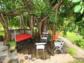 Le Cabanon ideal for Kitesurfers fireplace outside