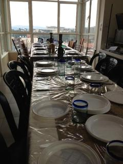 Shabbat Table for up to 22+