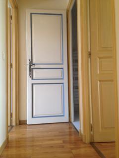 Room's door in upstairs