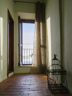 Corridoio con vista panoramica