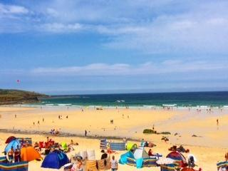 Nearest Beach just a few minutes walk Porthmeor