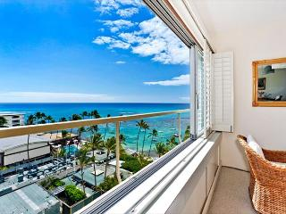 Ocean and Diamond Head views from this Gold Coast beauty!, Honolulu
