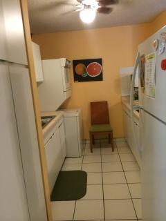 Kitchen with Laundry Machines